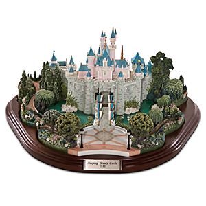 Sleeping Beauty Castle Miniature by Olszewski