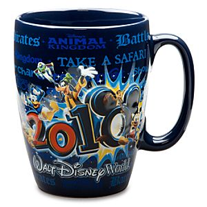 2010 Walt Disney World Resort Mickey Mouse and Friends Mug