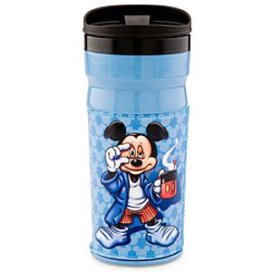 Mornings Mickey Mouse Travel Mug