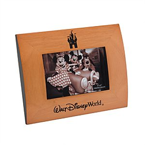 Walt Disney World Resort Wood Photo Frame - 4 x 6