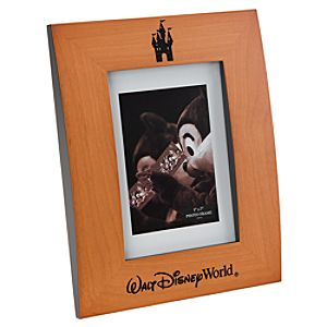 Walt Disney World Resort Wood Photo Frame - 5 x 7
