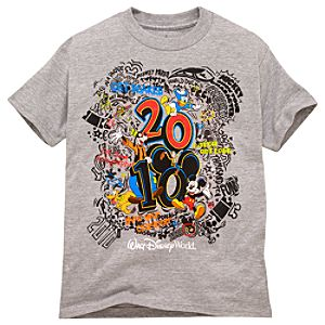 2010 Walt Disney World Resort Tee for Kids -- Gray