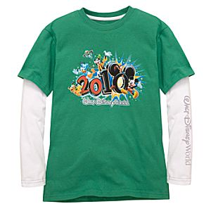2010 Walt Disney World Resort Double-Up Tee for Kids