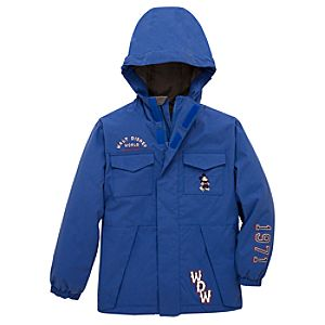 Walt Disney World Resort Hooded Mickey Mouse Jacket for Boys