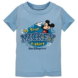 My First Mickey T-Shirt Walt Disney World Resort Tee for Infants