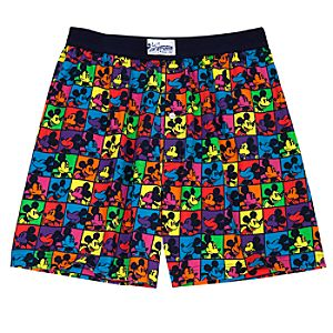 Neon Mickey Mouse Boxer Shorts
