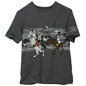 Mickeys Polo Team Tee for Men