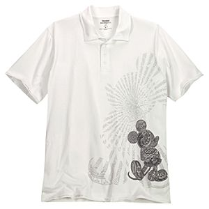 Batik Mickey Mouse Polo