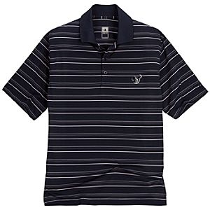 Champion Performance Striped Mickey Mouse Polo