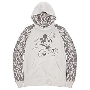Hoodie White Mickey Mouse Sweatshirt