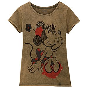 Thinking Minnie Mouse Tee for Women