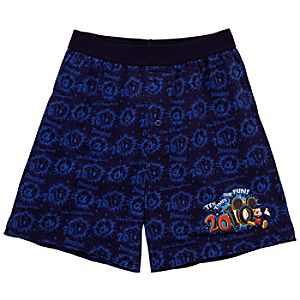 2010 Walt Disney World Resort and Disneyland Resort Boxers for Men