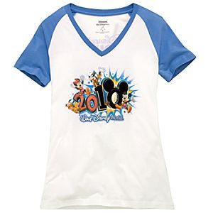 2010 Raglan Walt Disney World Resort Tee for Women