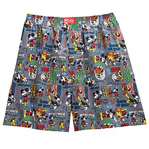 Comic Mickey Mouse Boxer Shorts