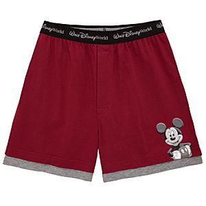Disneyland Mickey Mouse Boxer Shorts