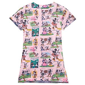 Comics Minnie and Mickey Mouse Tee for Women