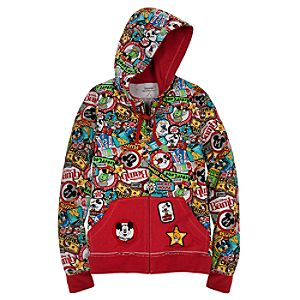 Hoodie Disney Parks Badges Jacket