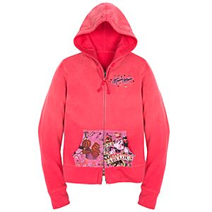 Hoodie Tattoo Fabulous Minnie Mouse Sweatshirt Jacket
