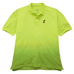 Dip Dye Walt Disney World Polo for Men -- Green