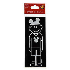 Disney Parks Authentic Family Window Decal -- Dad
