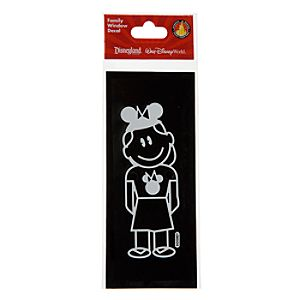 Disney Parks Authentic Family Window Decal -- Girl