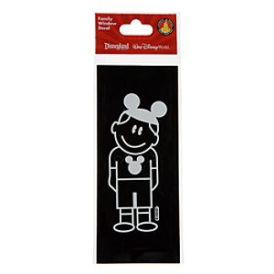 Disney Parks Authentic Family Window Decal -- Boy