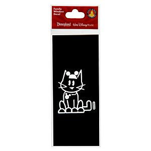 Disney Parks Authentic Family Window Decal -- Cat