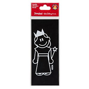 Disney Parks Authentic Family Window Decal -- Disney Princess Girl