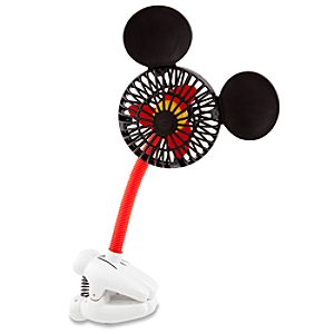 Clip-On Mickey Mouse Fan