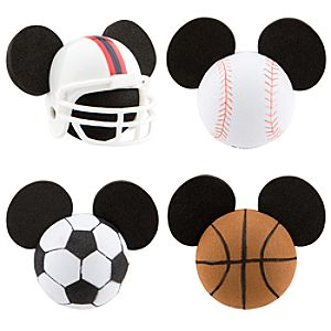 All-Sport Mickey Mouse Antenna Topper Set -- 4-Pc.