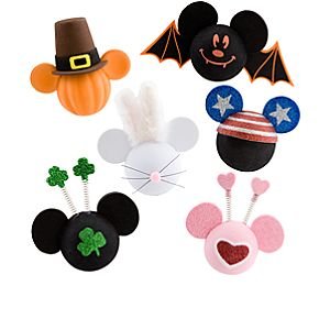 All-Holiday Mickey Mouse Antenna Toppers -- 6-Pc.