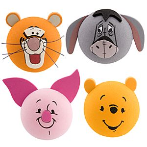 Winnie the Pooh Antenna Topper Set -- 4-Pc.