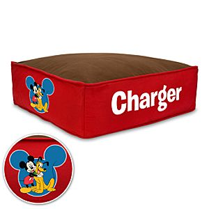 Personalized Mickey Mouse Pet Bed - Small