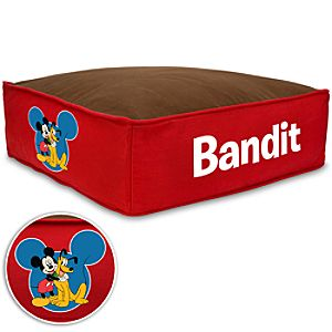 Personalized Mickey Mouse Pet Bed - Large