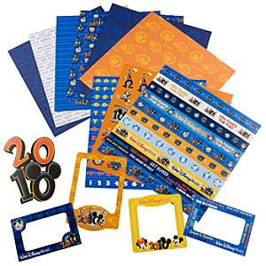 2010 Walt Disney World Resort Scrapbooking Kit