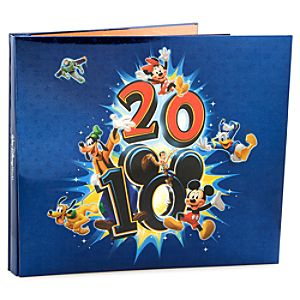 2010 Walt Disney World Resort  Scrapbook Album