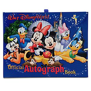 Official Walt Disney World Resort Autograph Book