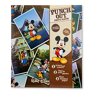 Punch Out Walt Disney World Photo Album