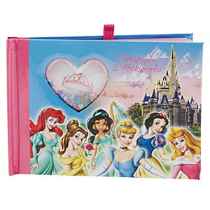 Walt Disney World Resort Princess Autograph Book and Photo Album