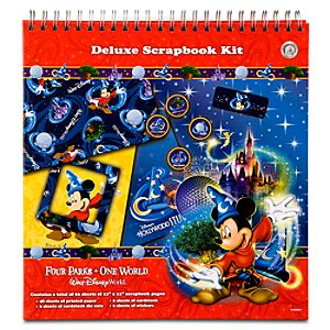 Four Parks, One World Walt Disney World Resort Deluxe Scrapbook Kit