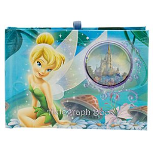 Walt Disney World Resort Tinker Bell Autograph Book and Photo Album