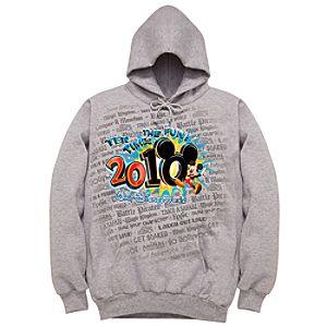 2010 Walt Disney World Resort Tour Hoodie Sweatshirt for Men