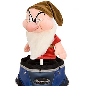 Grumpy Plush Golf Club Cover