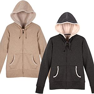 Customized Sherpa-Lined Hoodie Jacket