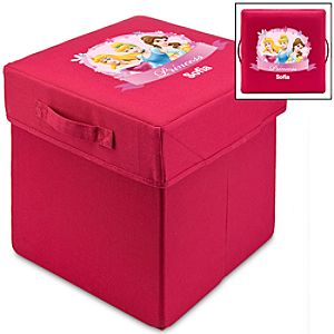 Personalized Disney Princess Storage Cube
