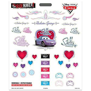 Ridemakerz Hearts N Pinstripes Decals