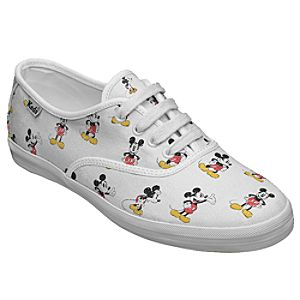 Customized Womens Vintage Mickey Mouse Keds