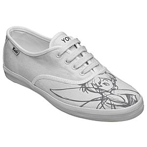 Customized Womens Sketch Art Tinker Bell Keds