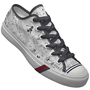 Customized Womens Comics Mickey Mouse PRO-Keds