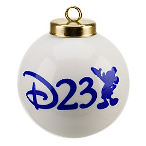 Limited Edition D23 Ornament